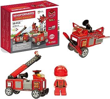 Magformers 717003 Set de rescate para bomberos, multicolorMagformers 717003 Set de rescate para bomberos, multicolor , color/modelo surtido: Amazon.es: Juguetes y juegos