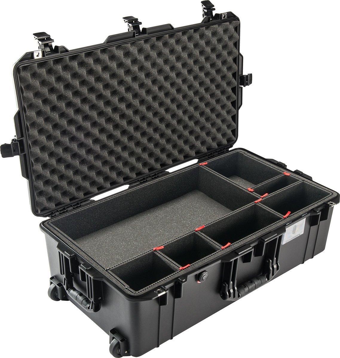 Pelican 1400オレンジポリプロピレン保護ハードケース – 13.37で全体的な長 – 11.62幅 – 6でで高さ – Lockable – 14020 [各あたり価格は]   B00745S8A8