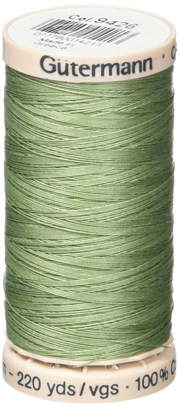 Gutermann Quilting Thread 220 Yards-Magic Green