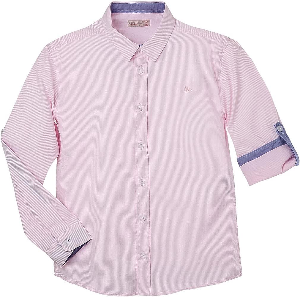 Amazon.com: OFFCORSS Camisa de manga larga con botones para ...