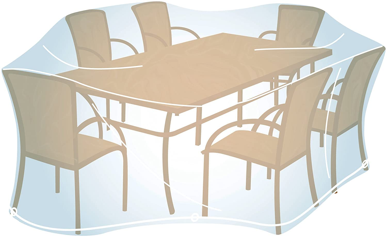 Campingaz HOUSSE POUR Ensemble DE Jardin RECTANGULAIRE Taille L Funda Muebles Transparente 36.2x5.5x27.9 cm