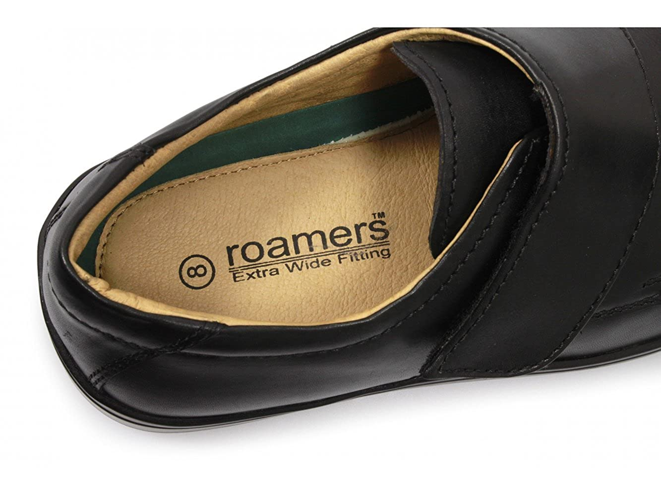 7205617e4f5 ROAMERS Extra Wide Touch Fastening Casual Shoes Mens  Amazon.co.uk  Shoes    Bags