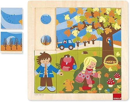 puzzle en bois goula en vente | eBay