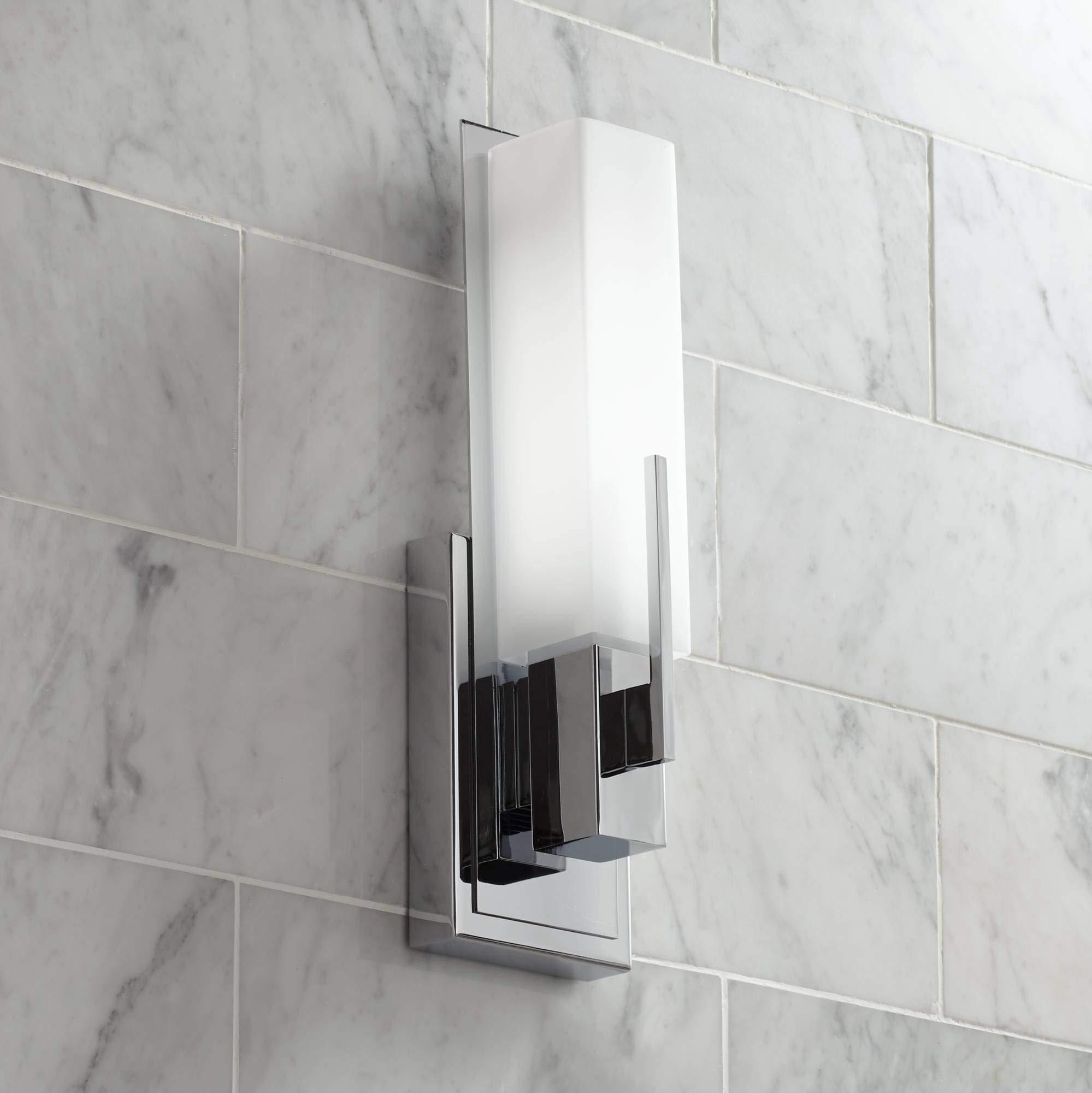 Possini Euro Design Midtown 15'' High Chrome LED Wall Sconce - Possini Euro Design