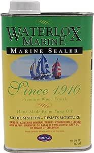 Waterlox TB 3809 25F Original Marine Sealer Qt, Clear