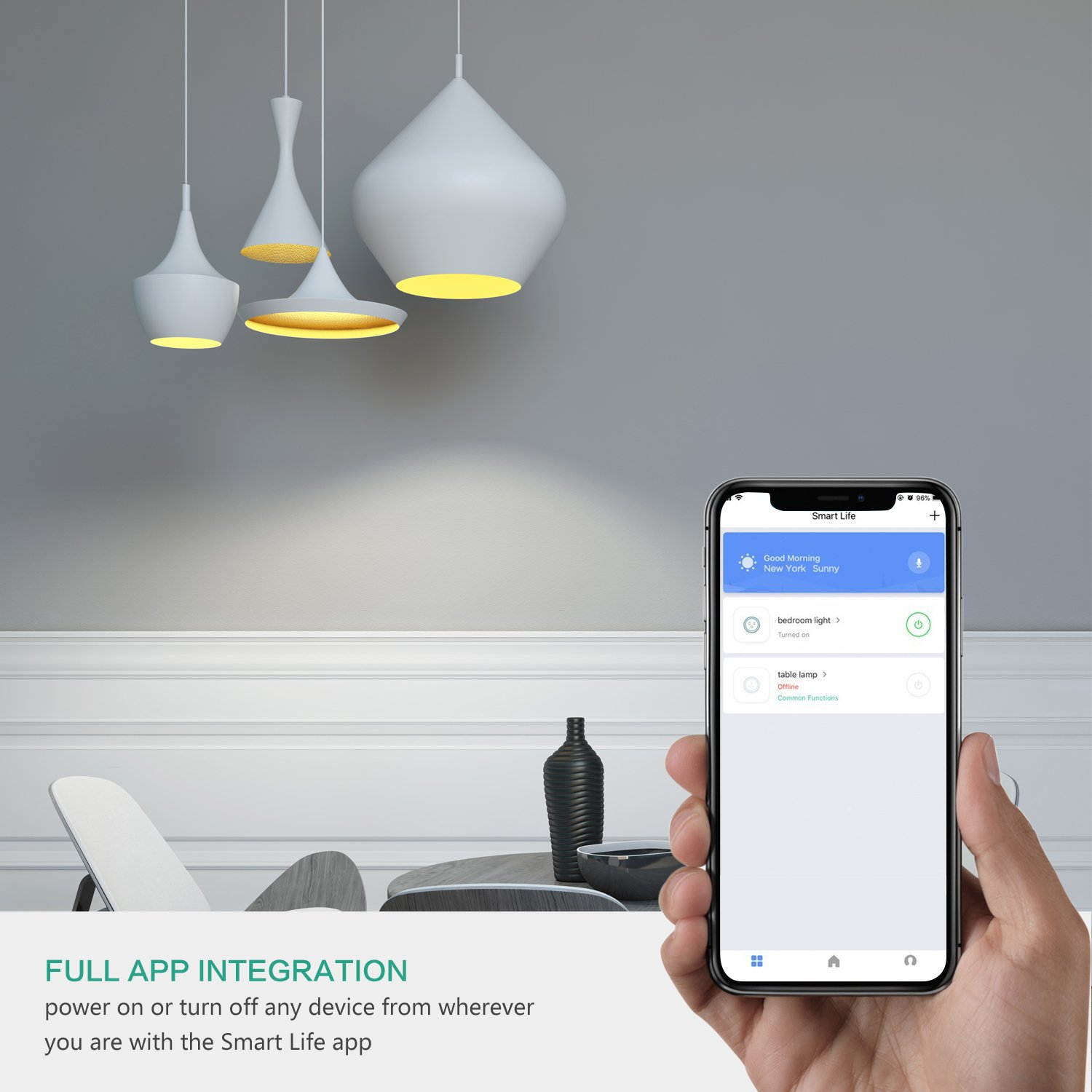 Mini Smart WiFi Plug, NexTrend Mini WiFi Smart Socket Electrical Power  Switch No Hub Required with 5V/1A USB Charging Port Compatible with Alexa