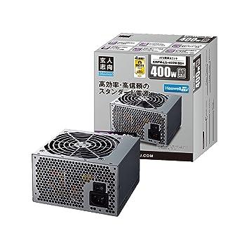 amazon 玄人志向 standardシリーズ 80 plus 400w atx電源 krpw l5 400w