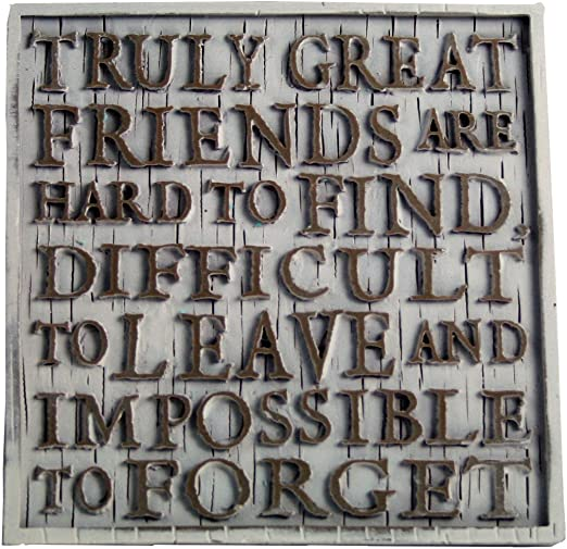 Driftwood Coasters-Truly Friends are Hard to find/…