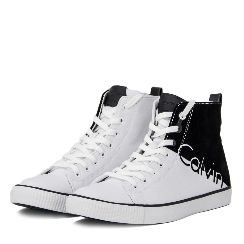 Calvin Klein Jeans Herren Schuhe AJAX Nylon Flocking S0495