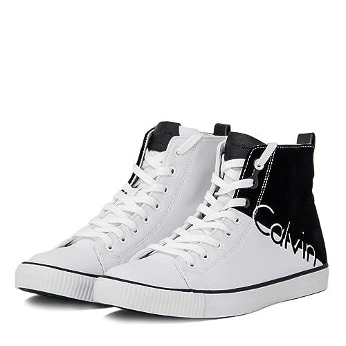 44 Jeans Scarpe S0495 Sneakers Calvin Uomo Nylon Klein Ajax Flocking Yb7gvf6ymI