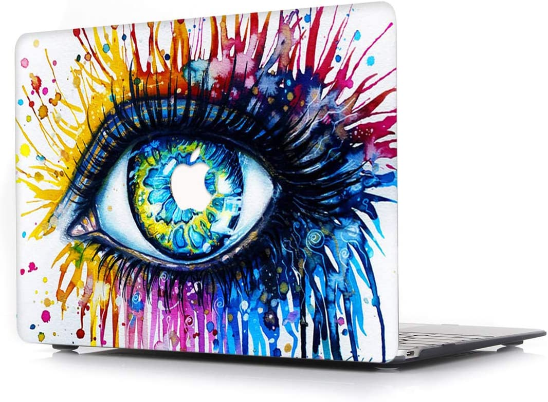 L2W Hard Case for Apple MacBook Pro 13.3 Inch (2014~2015) Model A1502/A1425 Laptop Computers Accessories Plastic Smooth Print Protective Creative Design Cover Eyes