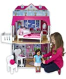 Sophia's Two-Story Doll House with Balcony, 18-Inch