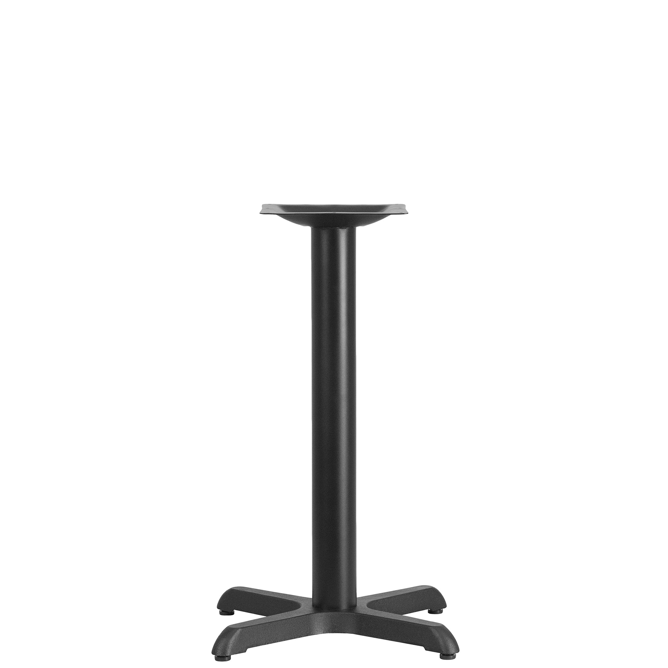 Flash Furniture 22'' x 22'' Restaurant Table X-Base with 3'' Dia. Table Height Column by Flash Furniture