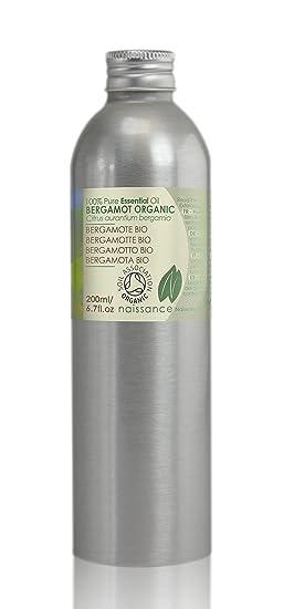 Bergamota BIO - Aceite Esencial 100% Puro - Certificado Ecológico -200ml: Amazon.es: Belleza