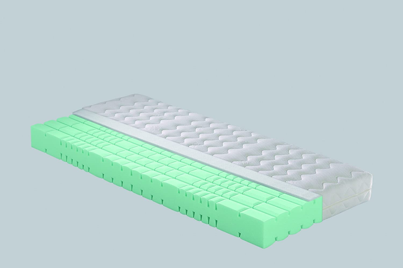 Badenia Bettcomfort 03888320245 Irisette Java - Colchón de espuma de poliuretano con dureza alta (80 x 200 cm), color blanco: Amazon.es: Hogar