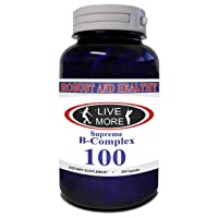 Robust & Healthy Supreme B Complex All B Vitamins B12 Cobalamin B1 Thiamin B2 Riboflavin...