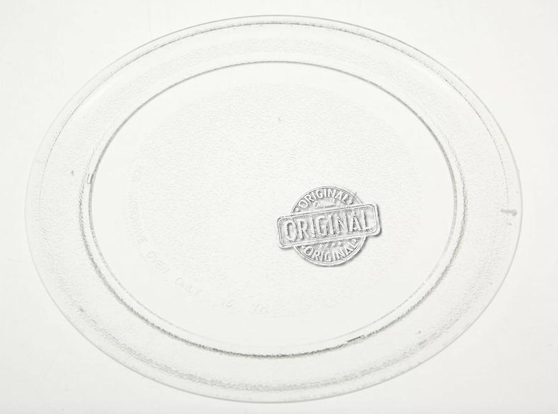 Whirlpool MWD122WH - Piatto Rotante in Vetro Originale per Forno a Microonde (Diametro 245mm) Whirlpool*