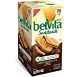Belvita Dark Chocolate Creme Breakfast Sandwich, 25 ct.