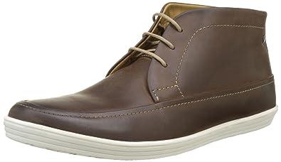 Venue, Desert Boots Homme, Marron (Brown Pull Up), 44 EUBase London