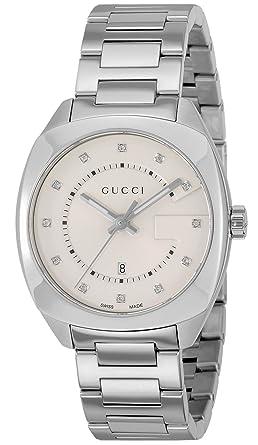 603961fb0f81 [グッチ]GUCCI 腕時計 GG2570 ホワイト文字盤 ダイヤモンド YA142403 レディース 【並行輸入品