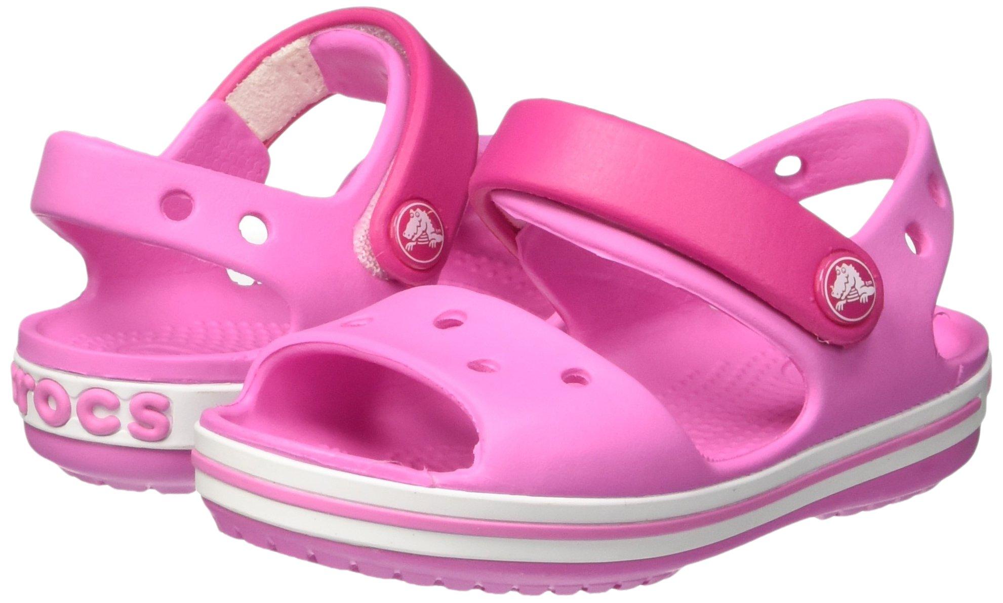 Crocs Crocband  Fun Lab   Light-Up Clog, Pink, C6 M US Toddler by Crocs (Image #5)