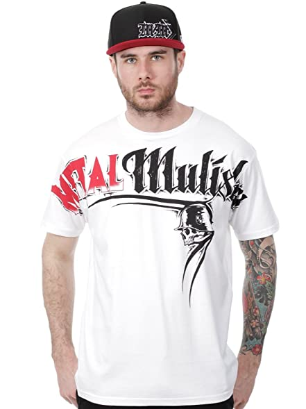 Metal Mulisha T-Shirt Locked Optic Weiß (Small , Weiß)