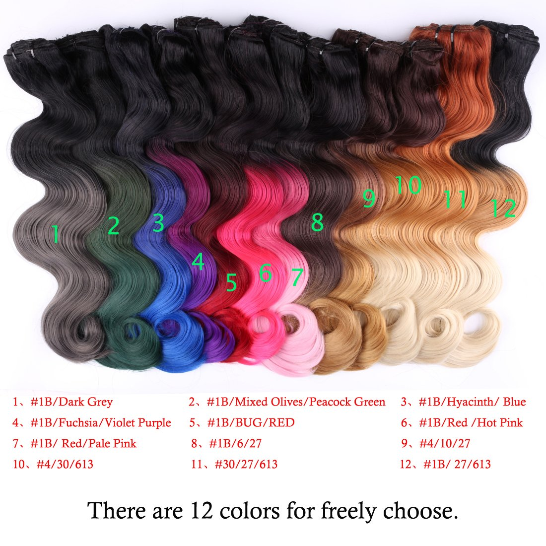 Amazon creamilytm 1b27613 18 wavy clip in hair amazon creamilytm 1b27613 18 wavy clip in hair extensions 3 tone ombre color 8 pieces for a full head natural black to caramel blonde to bleach pmusecretfo Image collections