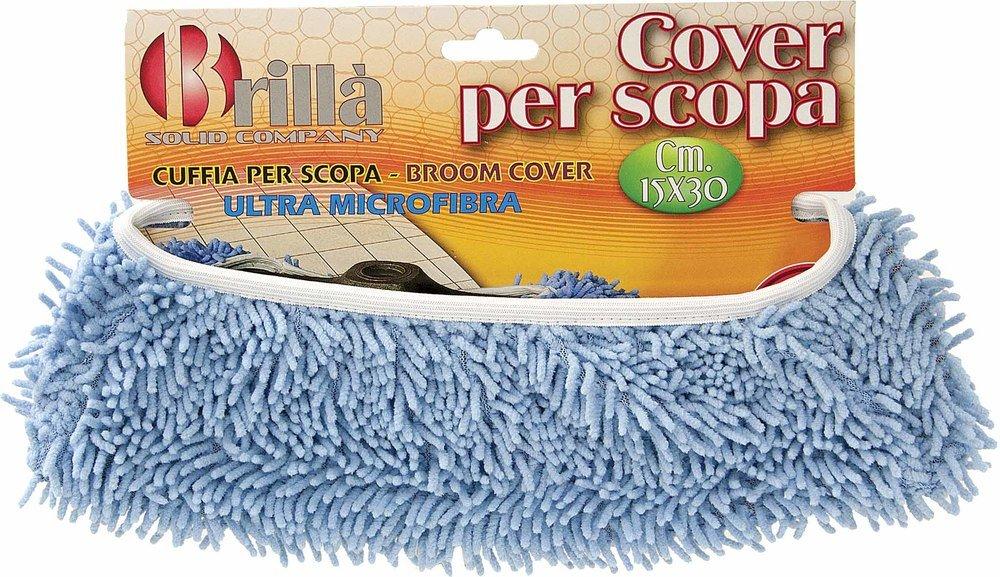 Cuffia per Scopa in Ultra Microfibra 15x30 cm