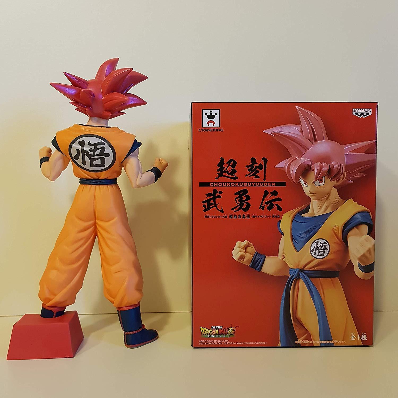 DRAGON BALL Super Saiyan God 22cm VEGETA CHOKOKU BUYUDEN Original BANPRESTO