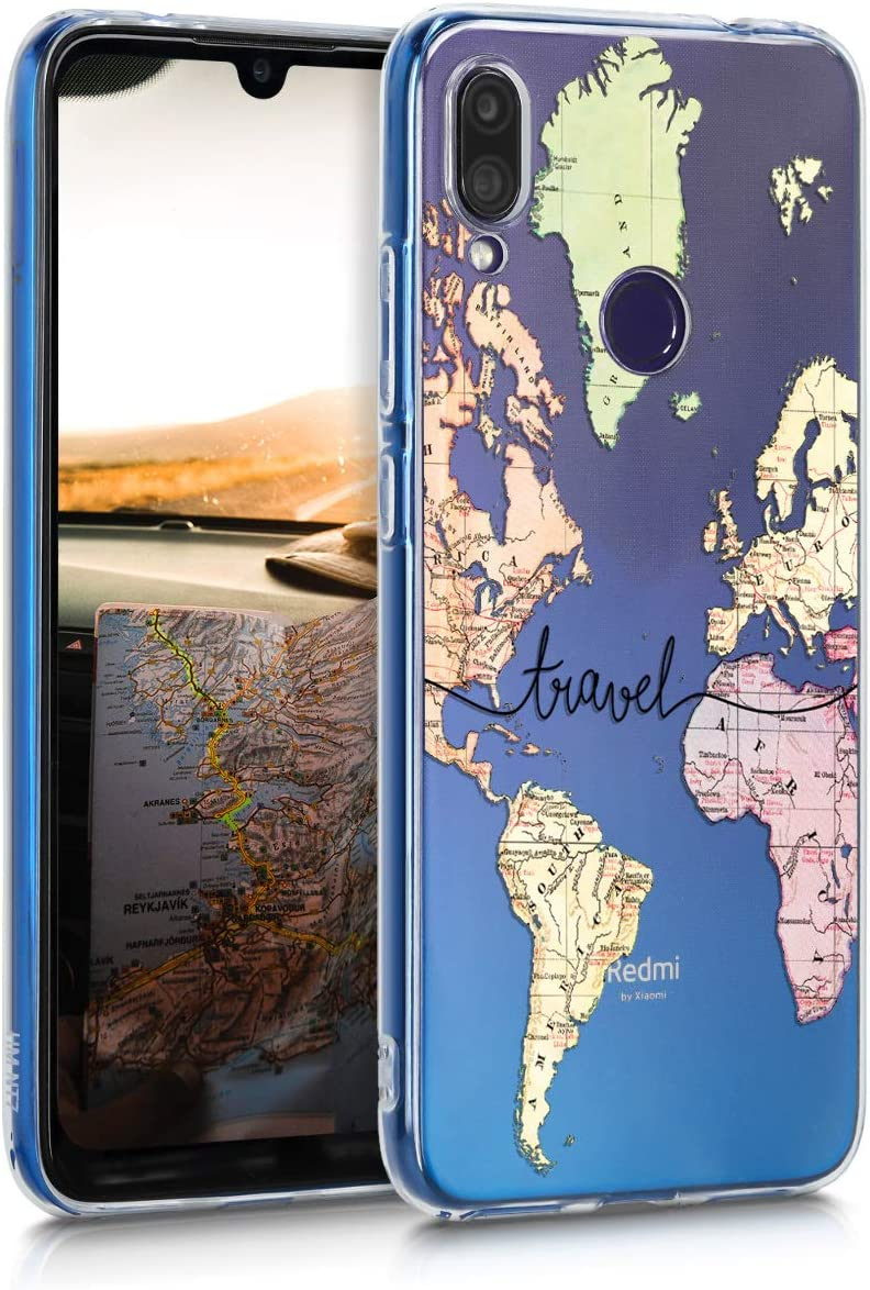 kwmobile Funda Compatible con Xiaomi Redmi Note 7 / Note 7 Pro ...