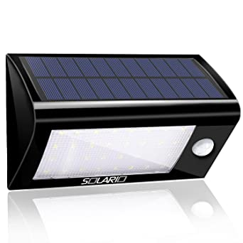 Solar Powered Security Floodlights   Motion Activated Lights  Wireless  Outdoor Light  32 Ultra Bright