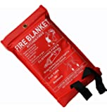 Fire Blanket 1m x 1m by TopChef