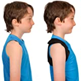 Posture Corrector for Kids and Woman - Help for a Good Back Position - Comfortable Adjustable and Compact Won't Restrain…