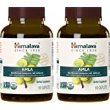 Himalaya Organic Amla, Natural Antioxidant for Immune Support, 60 Caplets, 600 mg ,2 Month Supply (2 PACK)