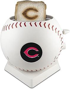 MLB Cincinnati Reds Pangea Brands ProToast MVP Toaster, White