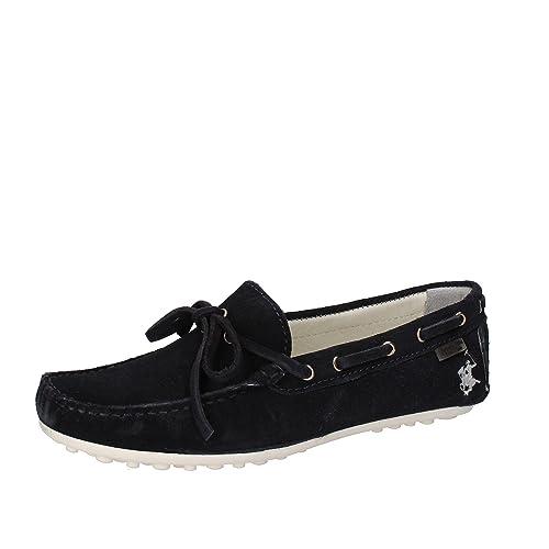 BEVERLY HILLS POLO CLUB - Mocasines de ante para niño azul turquesa azul Size: 37: Amazon.es: Zapatos y complementos