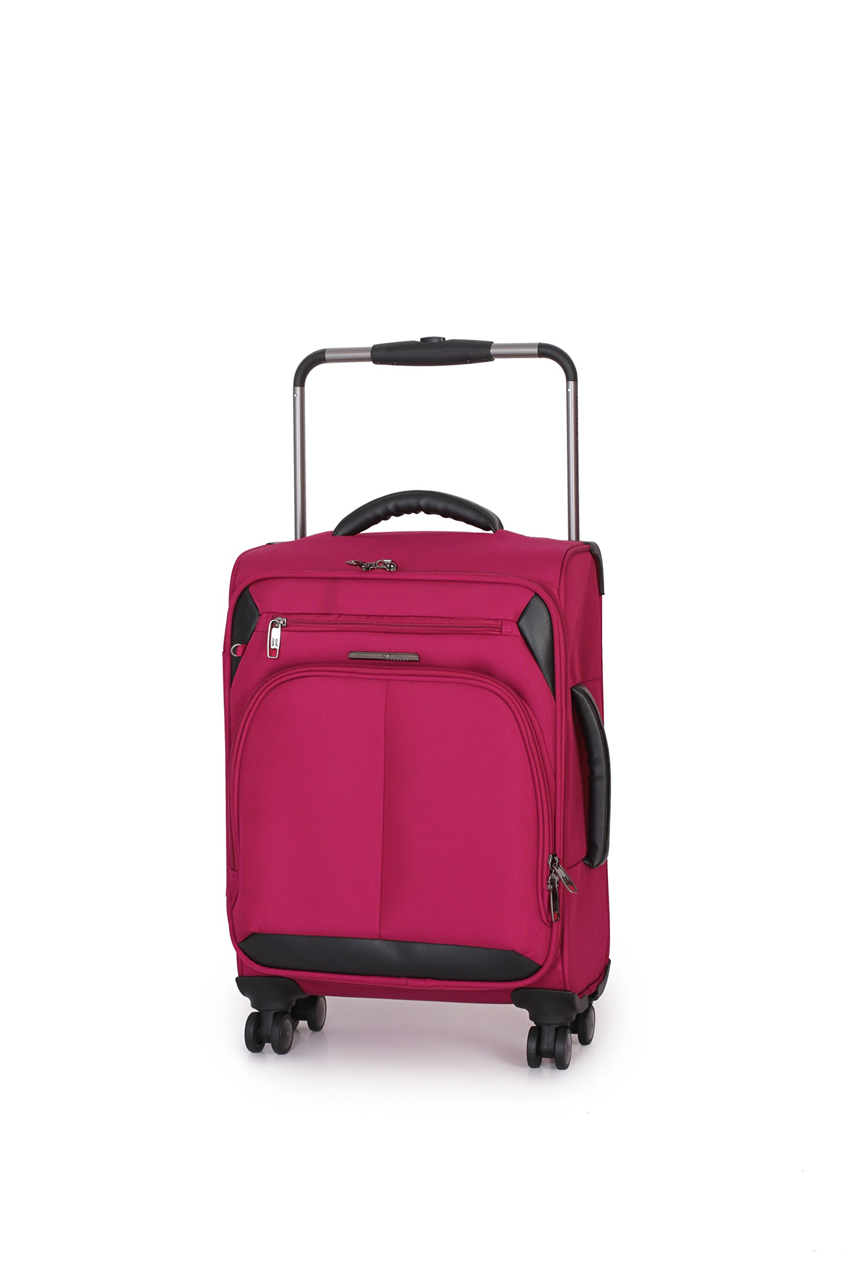 IT Luggage World's Lightest Spinner 21 Inch Carry On (One size, Pink)