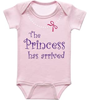 330b14306 Amazon.com : Newborn Girl Take Home Outfit The Princess Has Arrived ...