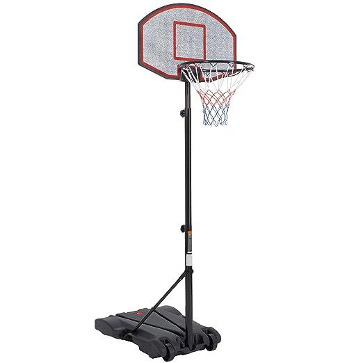 36 opinioni per Ultrasport 331300000228 Canestro da Basket su Piedistallo, Impianto Stabile da