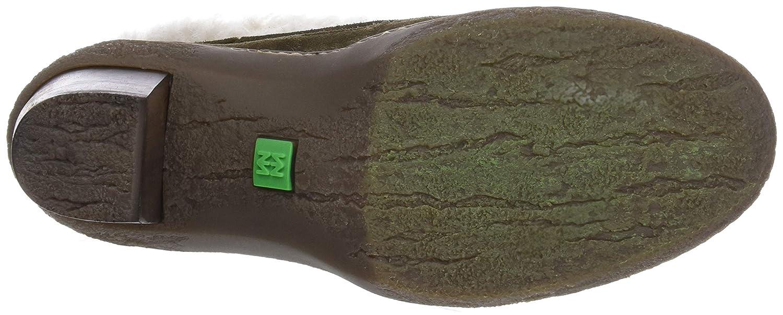 El Naturalista Damen N5172 Lux Lux Lux Suede-Doble Faz Kaki Lichen Kurzschaft Stiefel 1936fe