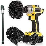 Ultra rígido cepillo para polvo de taladro eléctrico con 6 pulgadas extensor de brocha Kit de brocha – Brocha de…