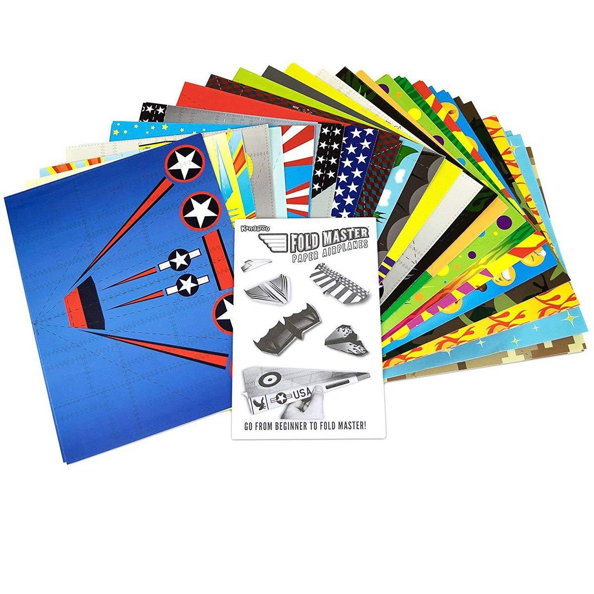 Kangaroo's Paper Airplane Kit; 72 Paper Airplanes by Kangaroo (Image #2)