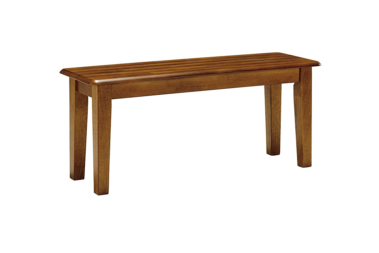 Amazon Com Natural Wood Dining Table Home Kitchen - Amazon com ashley furniture signature design dining bench rectangular vintage casual rustic brown finish table benches