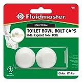 Fluidmaster 7115 Replacement Toilet Bolt Caps In