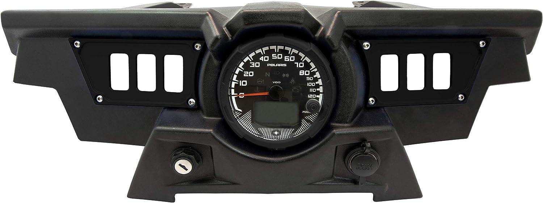 STV Motorsports SDP6 Aluminum Dash Panel Rocker Switch Plates for Polaris RZR XP 1000 for 6 Rocker Switches (Black)