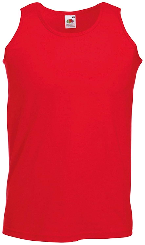 Fruit of the Loom Athletic Unterhemd S,Rot Rot