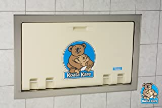 product image for Koala Kare KB100-00ST Recessed Horizontal Baby Changing Station - Cream