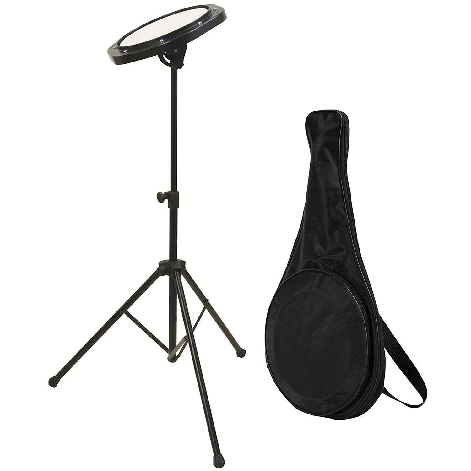 On-Stage DFP5500 Drum Practice Pad with Stand & Bag On Stage