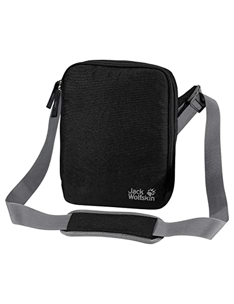 0d45f7ef7b Amazon.com: Jack Wolfskin Gadgetary Bag, Black, One Size: Sports ...