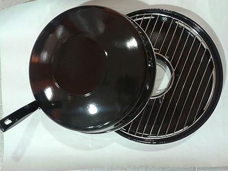Algon Grill, Acero, 32 cm